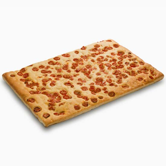 Focaccia with cherry tomatoes 800gr – art V00246